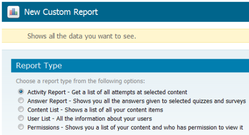 Articulate Online Custom Reports