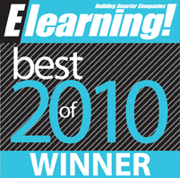 Elearning Magazine Best of 2010 Winner
