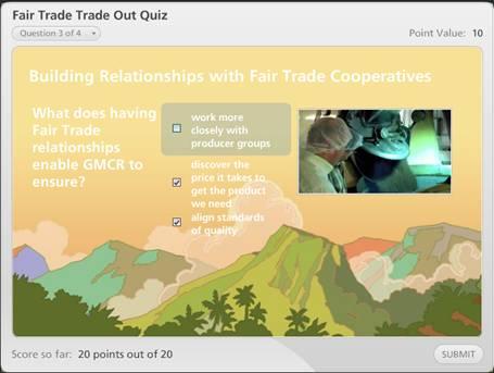 fair trade quiz
