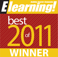 Elearning Magazine Best of 2011 Winner