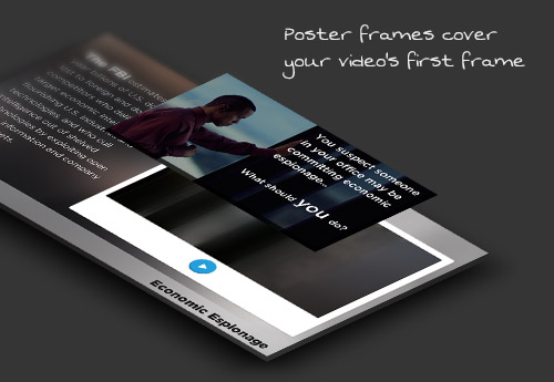 E-learning Video Poster Frames