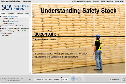 Guru Honorable Mention Safety Stock By Accenture Academy Word Of Mouth Blog Articulate